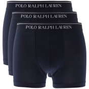 Product Image for Ralph Lauren Underwear 3 Pack Boxer Shorts Navy