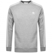 Product Image for adidas Originals 3 Stripes Sweatshirt Grey
