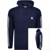 Product Image for adidas Originals Lock Up Logo Hoodie Navy