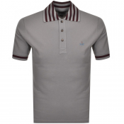 Vivienne Westwood Short Sleeved Polo T Shirt Grey