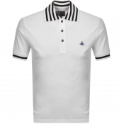 Product Image for Vivienne Westwood Short Sleeved Polo T Shirt White