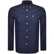 Product Image for Lyle And Scott Long Sleeve Oxford Shirt Navy