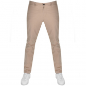 Lyle And Scott Skinny Fit Chino Trousers Beige