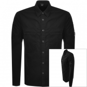 Product Image for CP Company Long Sleeved Shirt Black