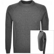 Product Image for CP Company Goggle Knit Jumper Grey