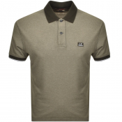 Product Image for CP Company Short Sleeved Polo T Shirt Green