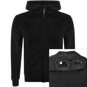 Product Image for CP Company Full Zip Goggle Hoodie Black