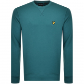 Product Image for Lyle And Scott Crew Neck Sweatshirt Green