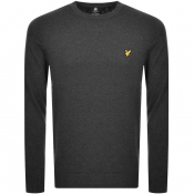 Lyle And Scott Crew Neck Knit Jumper Grey