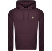 Lyle And Scott Pullover Hoodie Purple