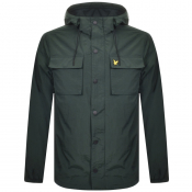 Product Image for Lyle And Scott Pocket Windbreaker Jacket Green