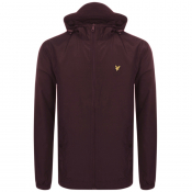 Product Image for Lyle And Scott Hooded Windbreaker Jacket Burgundy