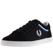 Product Image for Fred Perry Baseline Microfibre Trainers Navy