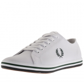 Product Image for Fred Perry Kingston Leather Trainers White