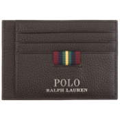 Product Image for Ralph Lauren Leather Card Holder Brown
