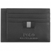 Product Image for Ralph Lauren Leather Card Holder Black
