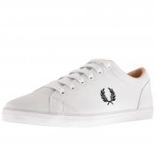Product Image for Fred Perry Baseline Leather Trainers White