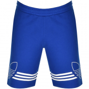 Product Image for adidas Originals Outline Trefoil Shorts Blue
