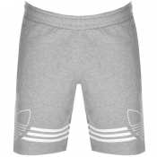 adidas Originals Outline Trefoil Shorts Grey