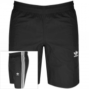 adidas Originals 3 Stripes Swim Shorts Black