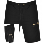 BOSS Athleisure Headlo Logo Shorts Black