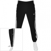 adidas Originals 3 Stripes Panel Joggers Black
