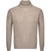 Product Image for Farah Vintage Batton Knitted Jumper Beige