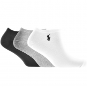 Ralph Lauren 3 Pack Socks White