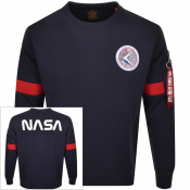 Product Image for Alpha Industries Apollo 15 Sweatshirt Navy