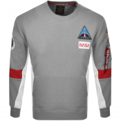 Product Image for Alpha Industries Space Camp Sweatshirt Grey