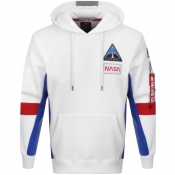 Product Image for Alpha Industries Space Camp Hoodie White