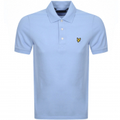 Product Image for Lyle And Scott Short Sleeved Polo T Shirt Blue