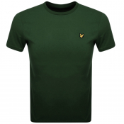 Lyle And Scott Crew Neck T Shirt Green