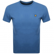 Lyle And Scott Crew Neck T Shirt Blue