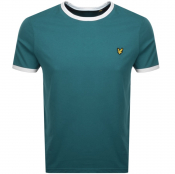 Product Image for Lyle And Scott Ringer Crew Neck T Shirt Blue