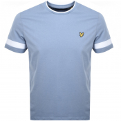Product Image for Lyle And Scott Tipped Crew Neck T Shirt Blue