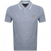 Product Image for Lyle And Scott Oxford Tipped Polo T Shirt Navy