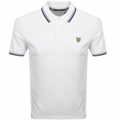 Lyle And Scott Tipped Polo T Shirt White