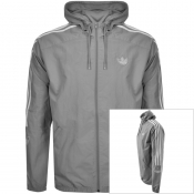 Product Image for Adidas Originals Trefoil Windbreaker Jacket Grey