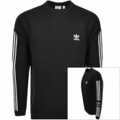 Product Image for adidas Originals Lock Up Crew Neck Sweatshirt Blac