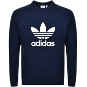 Product Image for Adidas Originals Trefoil Sweatshirt Navy
