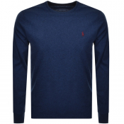 Product Image for Ralph Lauren Long Sleeved T Shirt Blue