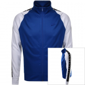 Nike Tribute Full Zip Track Sweatshirt Blue