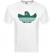 Product Image for adidas Originals Shmoo Logo T Shirt White
