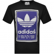 Product Image for adidas Originals Trefoil T Shirt Black