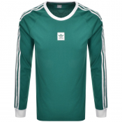 adidas Originals Long Sleeve T Shirt Green