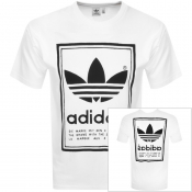 adidas Originals Vintage Logo T Shirt White