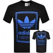 adidas Originals Vintage Logo T Shirt Black