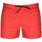 HUGO Barbados Swim Shorts Red