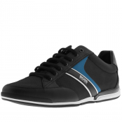 Product Image for BOSS HUGO BOSS Saturn Lowp Trainers Black
